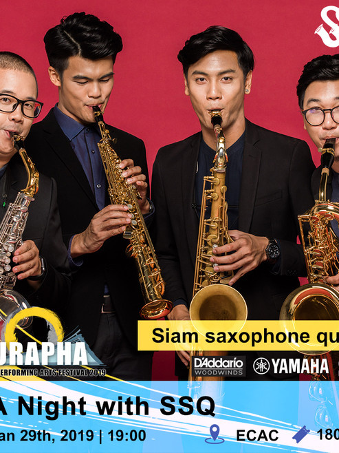 A Night with SSQ by Siam Saxophone Quartet