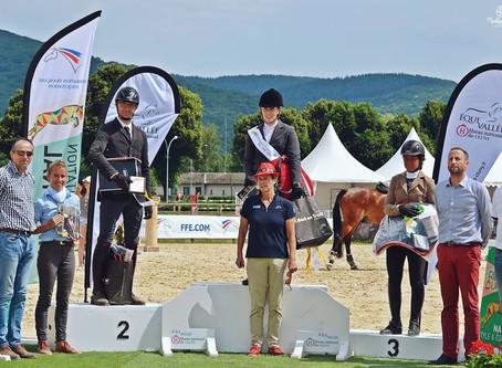 Hunter : Nos régionaux sur les podiums du National Style Equitation