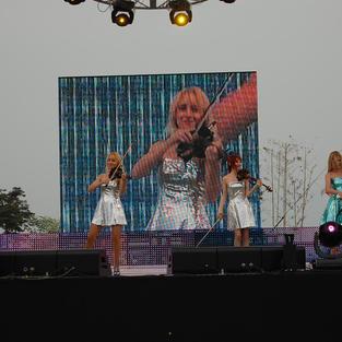 러시아 미에르바 해외공연팀 in 2009 부산 광안리 어방축제