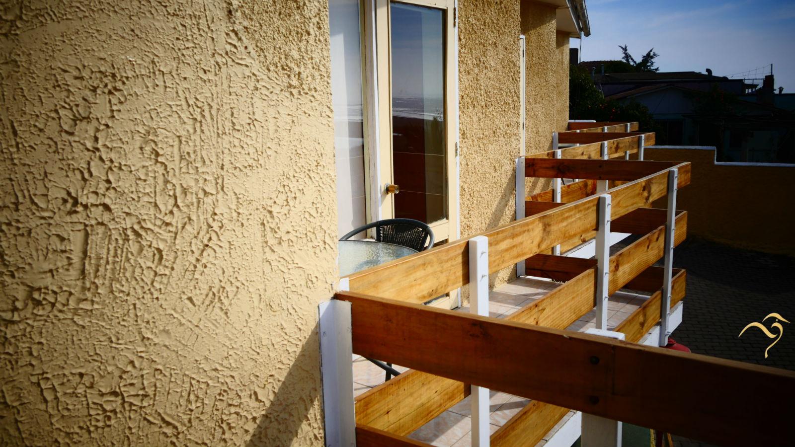terraza balcon en concon