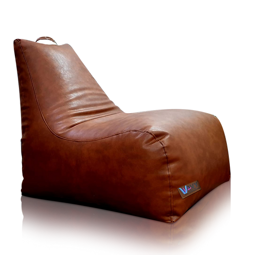 Gaming, brown leather