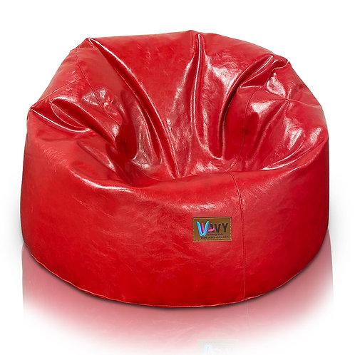 Shiny Red Big Comfy