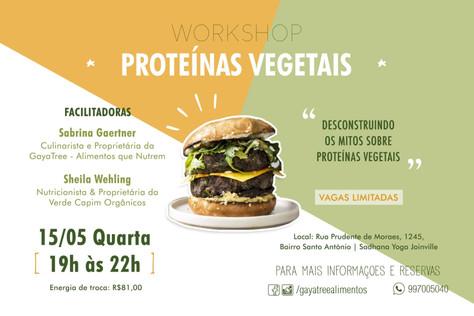 Worskhop: Proteínas Vegetais - 15.maio