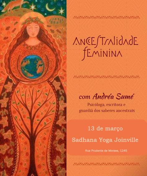 "Vivência ""Ancestralidade Feminina"" - 13.março"