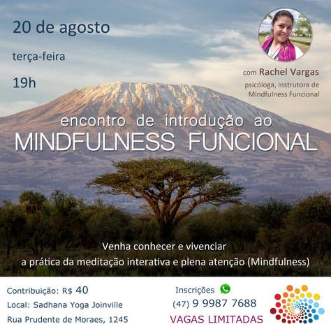 Introdução ao Mindfulness Funcional - 20.agosto