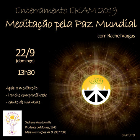 Festival Mundial da Paz do Ekam - Joinville_12 a 22.set