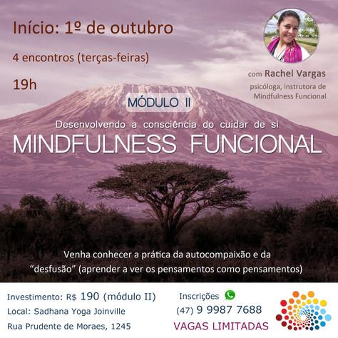 Mindfulness Funcional - 2º módulo_1º a 22 .outubro/2019