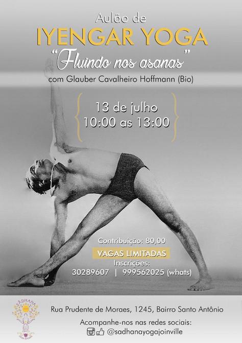 Aulão de Iyengar Yoga com Glauber Hoffmann (Bio) - 13.julho