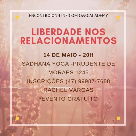 Meditação: Liberdade nos Relacionamentos - 14.maio