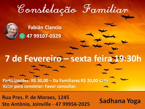 Constelação Familiar com Fábian Ciancio - 7.fevereiro
