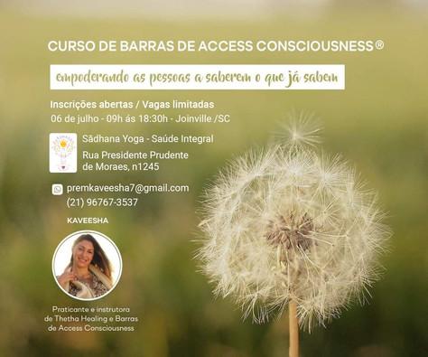 Curso de Barras de Access Consciousness - 6.julho