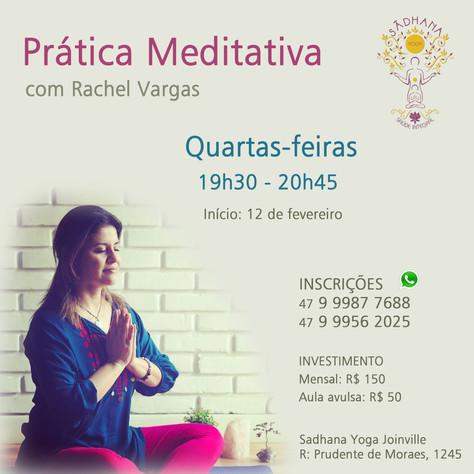 Prática Meditativa (semanal) - início 12.fevereiro