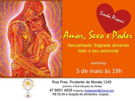 "Workshop ""Amor, Sexo e Poder"""