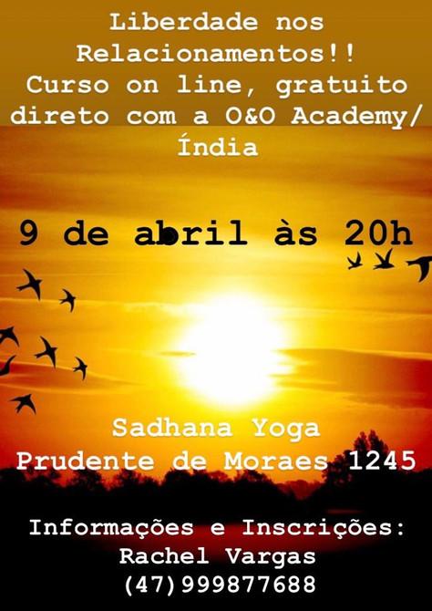 "Curso ""Liberdade nos Relacionamentos"" - 9.abril"