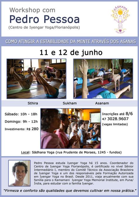 Workshop com Pedro Pessoa -  11 e 12/junho