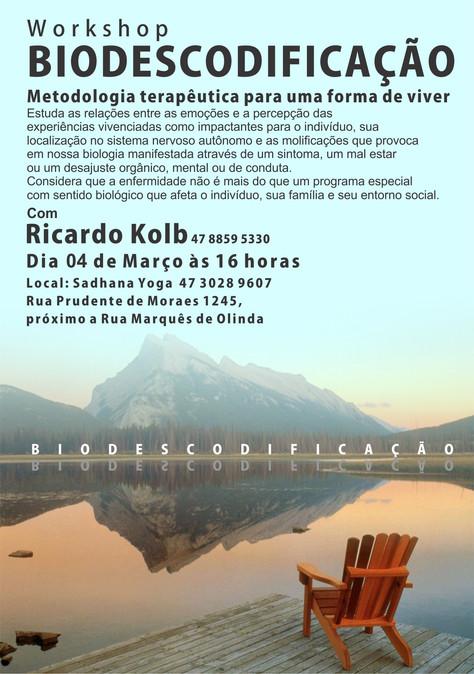 """Workshop """"Biodescodificação"""" 4/3"""