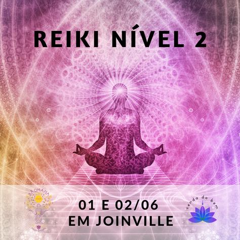 Cursos de Iniciação em Reiki (nível 2) - 1º e 2.junho