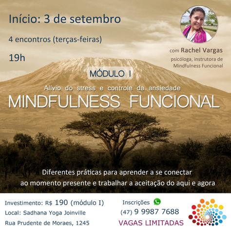 Mindfulness Funcional - 1º módulo_3 a 24.setembro/2019