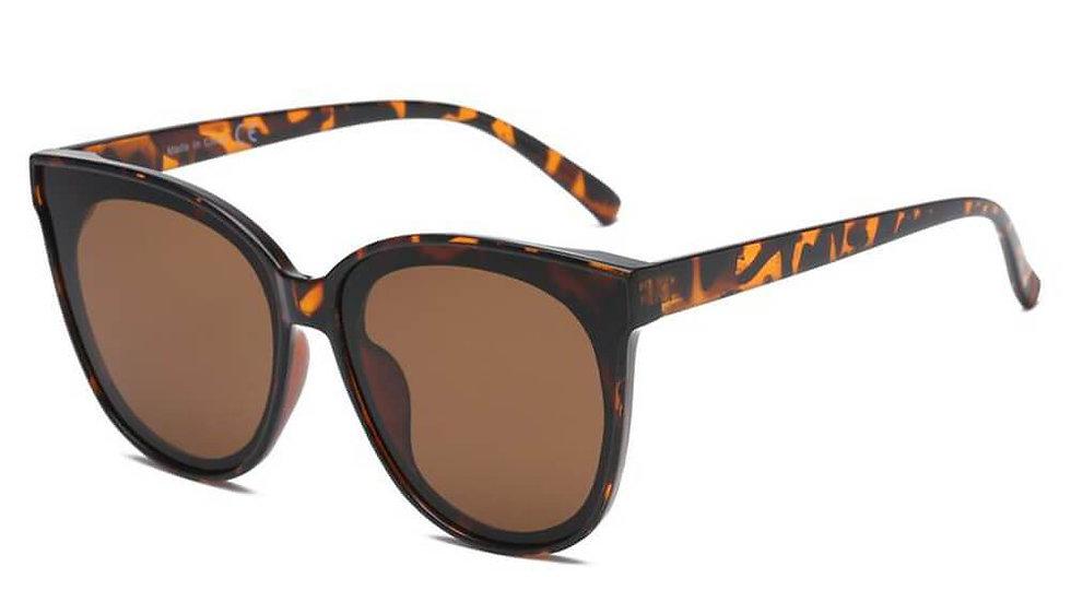 GARLAND | S1075 - Women Round Cat Eye Sunglasses