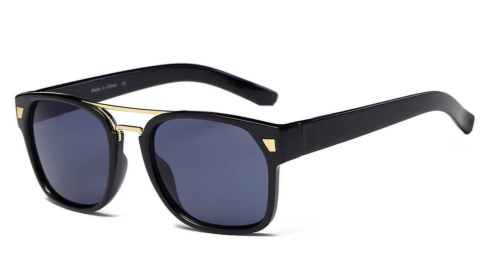 HINDMARSH   S1002 - Classic Retro Square Frame Fashion Sunglasses