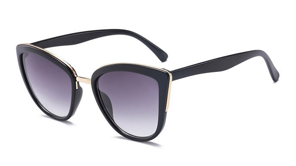 Women Vintage Gradient Glasses Retro Cat Eye Sun Glasses Female Eyewear UV400