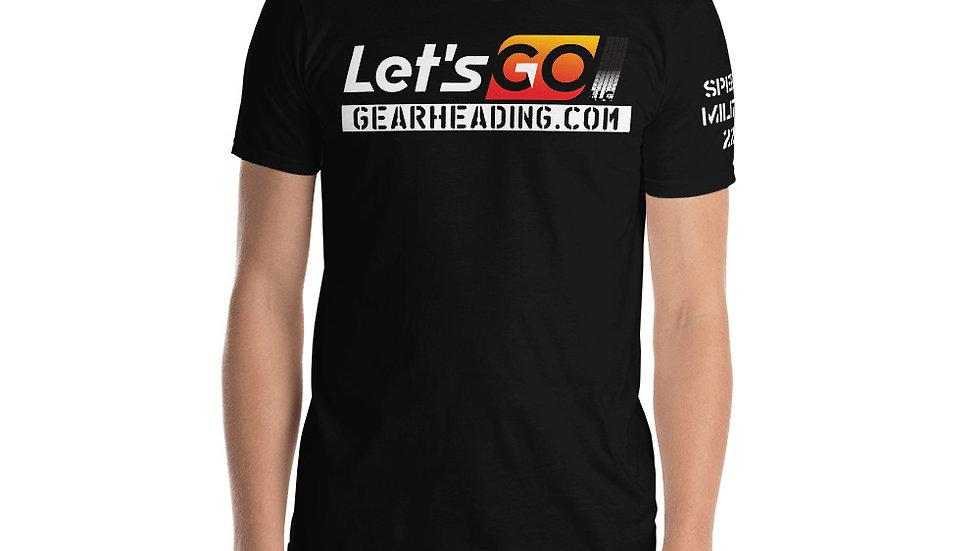 Let's Go! LLC T-Shirt Speed Militia 22 on sleeve