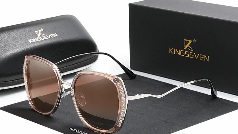 Genuine KINGSEVEN Women's Glasses Luxury Brand