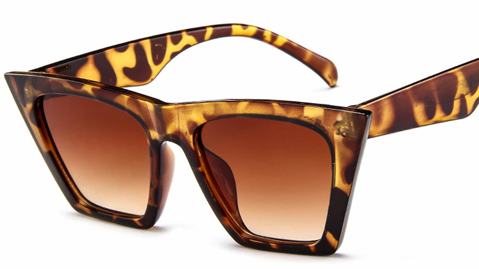 COOYOUNG New Oversized Sunglasses Women UV 400