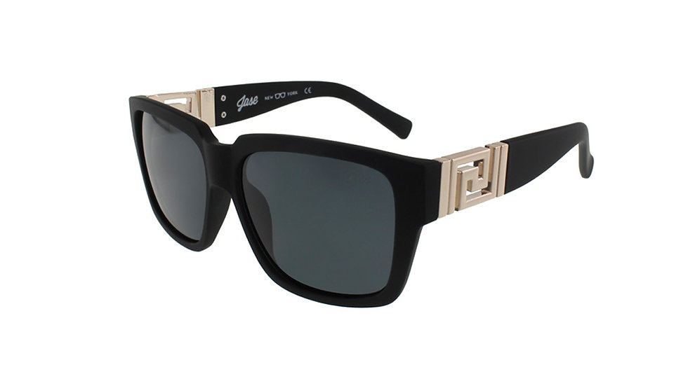 Jase New York Victor Sunglasses in Matte Black