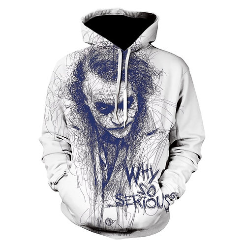 Hoodie Men Joker