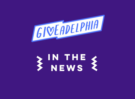 In the News: Giveadelphia Begins the New Year with a Sold Out Event and Growing List of Sponsors.