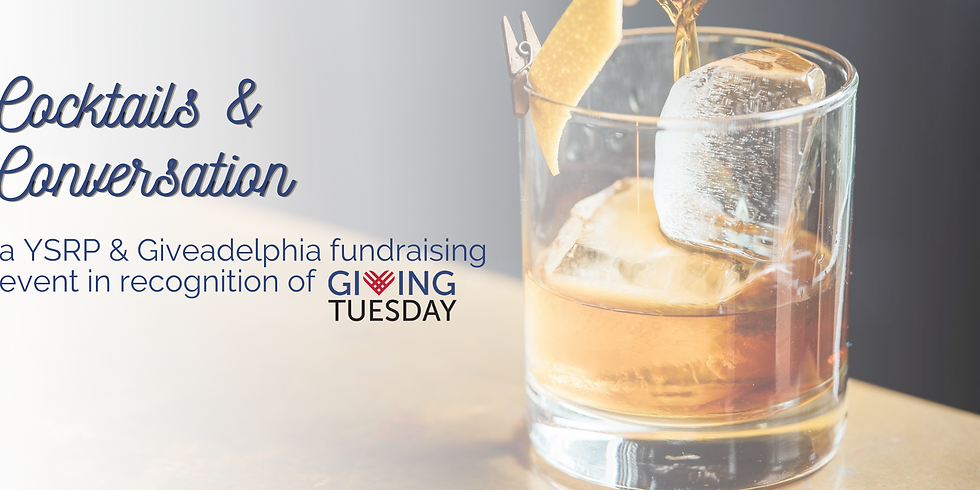 Cocktails and Conversation for Giving Tuesday