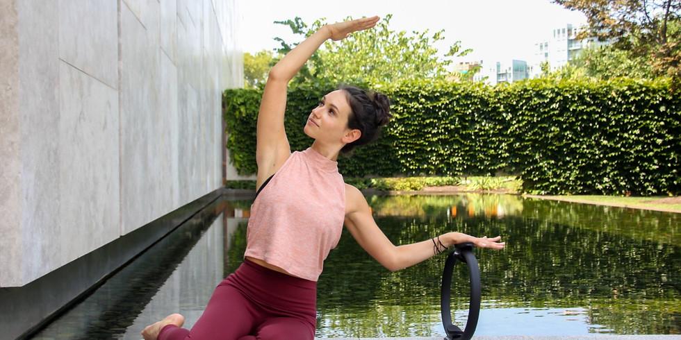 Outdoor Pilates with Mari Rubin