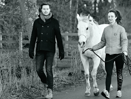 What is Walking Therapy with Horses?