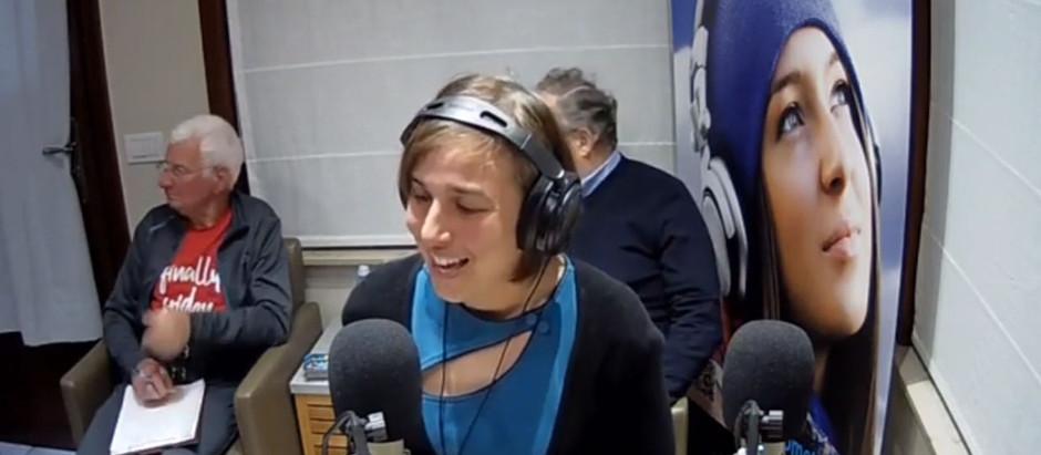 Te gast bij Radio Meteor