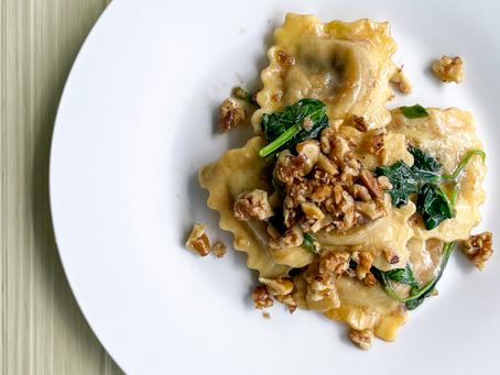 Truffle Brown-Butter Short Rib Ravioli Recipe