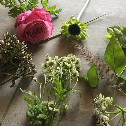 季節のお花で楽しむフラワー教室