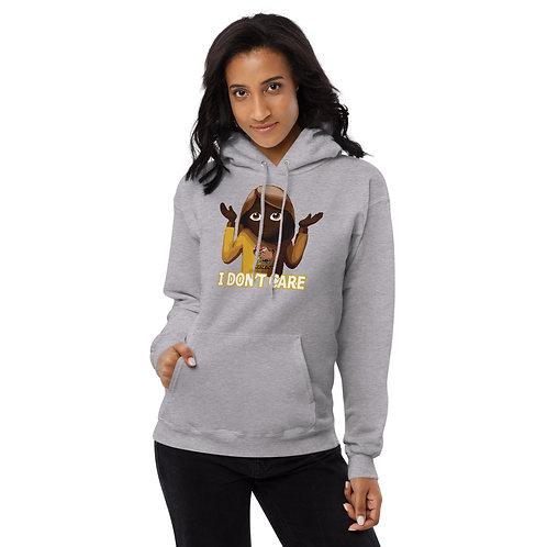 I Don't Care, Unisex fleece hoodie