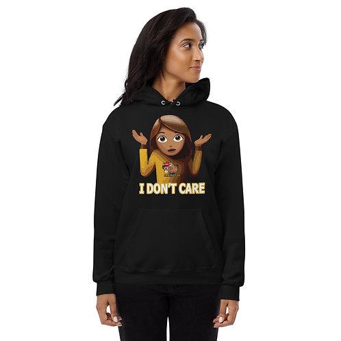 I Don't Care, Unisex I fleece hoodie
