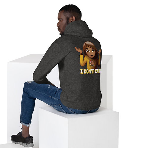 I Don't Care, Unisex Hoodie
