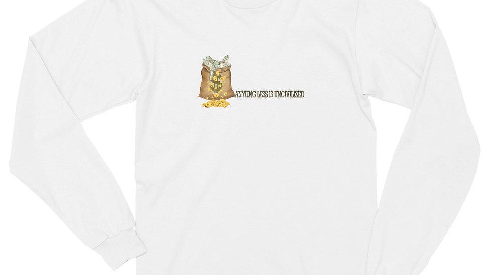 UNCIVILIZED Long sleeve t-shirt