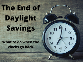 How To Help Your Child With Daylight Savings Ending