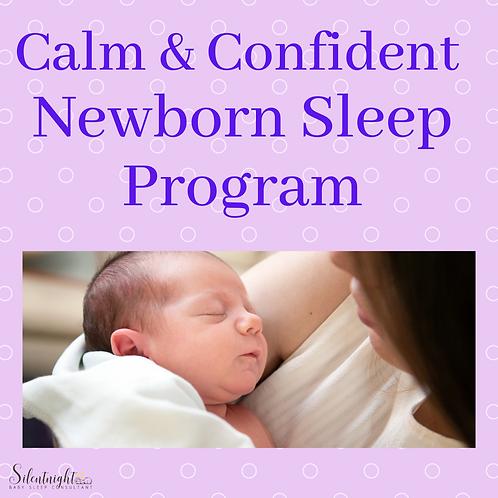 Calm & Confident Newborn Sleep Program