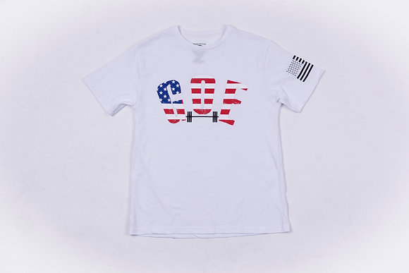 U.S.A SQUAT SHIRT- PATRIOTIC