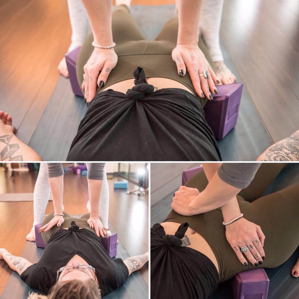 Assessing and correcting pelvic imbalance can alleviate back pain.