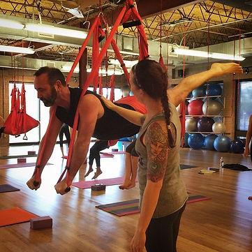 Beginner Hammock Yoga Classes