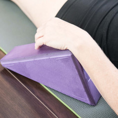 The YogaTriangle, invented for yoga. Have you tried it yet?