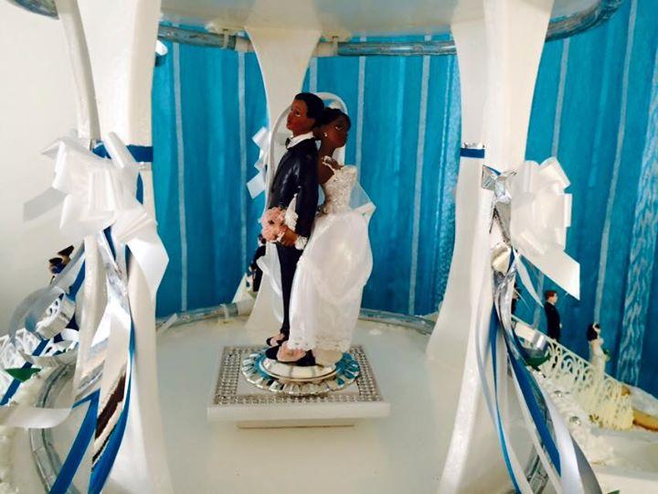 Trône des mariés
