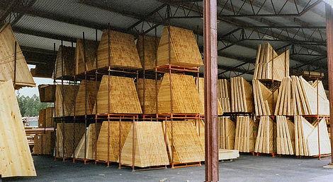 Pallsystem-lavat tehostavat varastointia