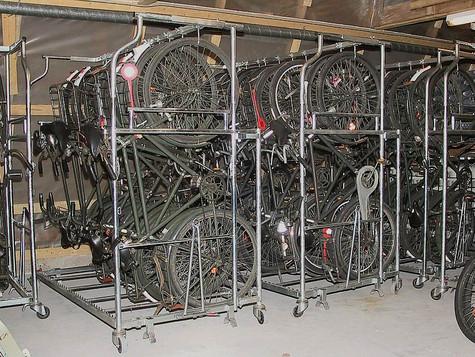 Armeijan polkupyörien varastointi